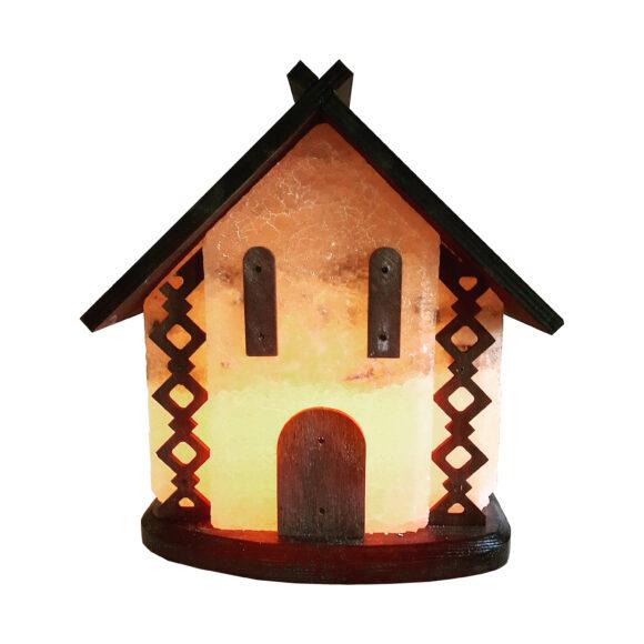 """Соляний світильник """"Будинок"""" 5-6кг"""