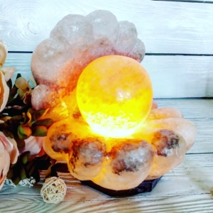 Соляной светильник Скала Гора